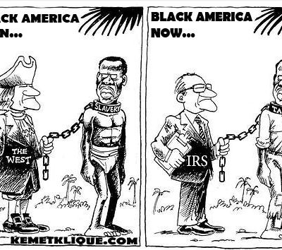 If Black Americans refused to pay taxes the U.S. would be just fi...