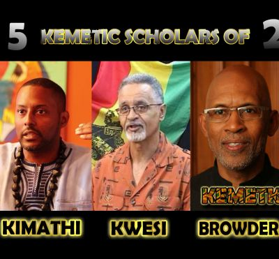 TOP 5 Kemetic Scholars of 2018