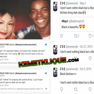 Stephon Clark and his Asian Girlfriend hated Black Women!