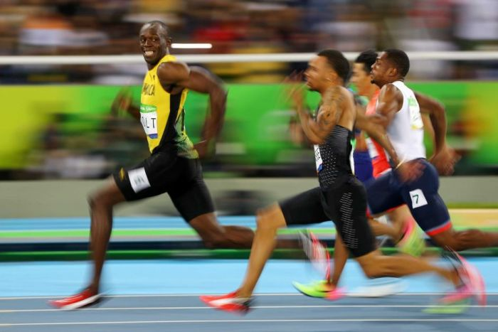 Bolt is the Official Fastest man in world history