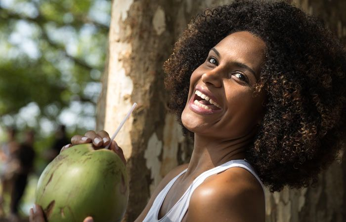 TOP 10 Benefits of Coconut Water